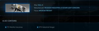 Hull A + VFG hangar 72m