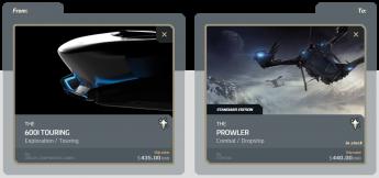 600i Touring to Prowler Upgrade (CCU)