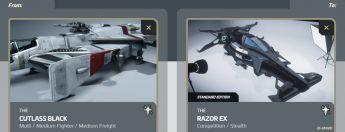 Cutlass Black to Razor EX Upgrade
