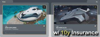 600i Explorer to M2 Hercules (CCU - Upgrade) w/ 10y Insurance