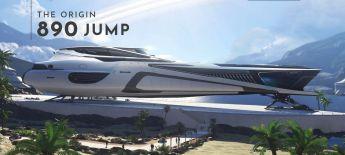 Origin 890 Jump - LTI - Original Concept + Takuetsu Model + Poster