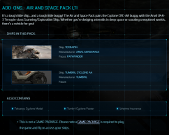Air and space pack LTI