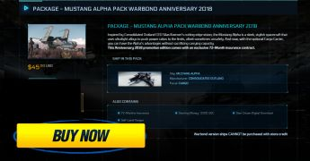 Package - Mustang Alpha Pack Warbond Anniversary 2018