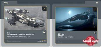 Andromeda to Esperia Blade Upgrade CCU