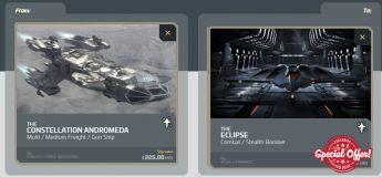 Andromeda to Aegis Eclipse Upgrade CCU