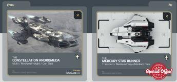 Andromeda to Mercury Star Runner Upgrade CCU