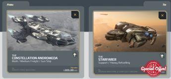 Andromeda to Starfarer Upgrade CCU