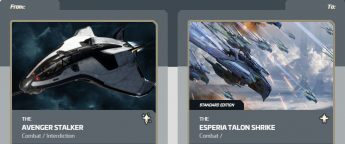 Avenger to Esperia Talon Shrike