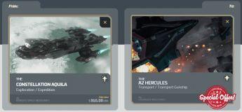 Aquila to A2 Hercules Upgrade CCU