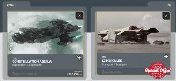 Aquila to C2 Hercules Upgrade CCU