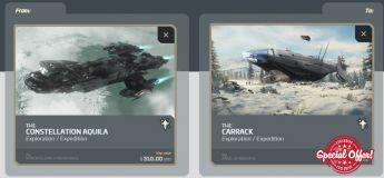Aquila to Carrack Upgrade CCU