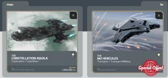Aquila  to M2 Hercules Upgrade CCU
