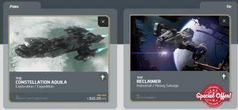 Aquila  to Reclaimer Upgrade CCU