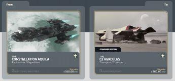 Aquila to Hercules C2 CCU