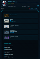 Old Account Valued at $752, includes Arbiter LTI package upgraded with Carrack, many subscriber goodies and account rewards!