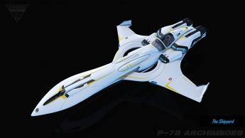 Kruger P-72 Archimedes - LTI - Original Concept Rare