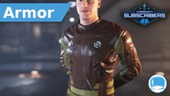 RSI Beacon Rust Society - Undersuit - Armor - Subscriber