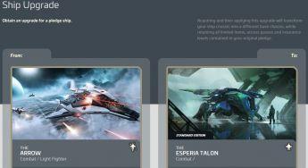 Anvil Arrow to Esperia Talon Upgrade