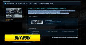 Package - Aurora Mr Pack Warbond Anniversary 2018