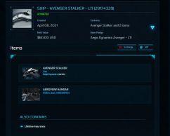 Aegis Dynamics Avenger Stalker - Standalone - LTI - Original Concept