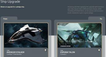 Aegis Avenger Stalker to Esperia Talon Upgrade