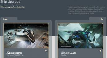 Aegis Avenger Titan to Esperia Talon Upgrade