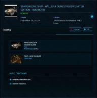 Flash Sale > Ballista Dunestalker Limited - Warbond LTI (original concept)