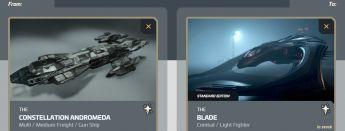 Andromeda to Blade Upgrade