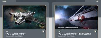 F7C-M Super Hornet to F7C-M Super Hornet Heartseeker Upgrade