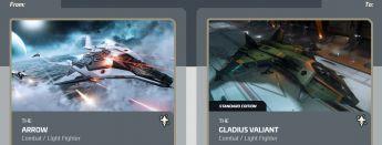 Arrow to Gladius Valiant Upgrade
