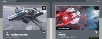 F7C-R Hornet Tracker to Mantis Subscriber