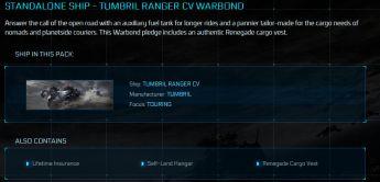 Tumbril Ranger CV LTI Warbond