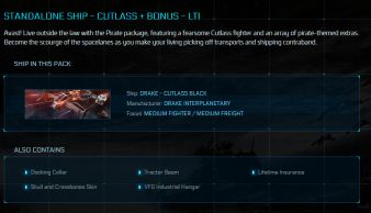 Cutlass Black + Bonus  LTI Original Concept