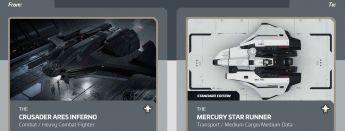 Flash Sale > Ares Inferno to Mercury Star Runner Upgrade