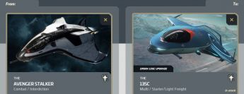Avenger Stalker to 135c Upgrade