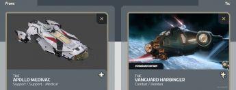 Apollo Medivac to Vanguard Harbinger Upgrade