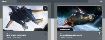 Vanguard Sentinel to Vanguard Harbinger Upgrade