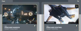 Vanguard Warden to Vanguard Sentinel Upgrade