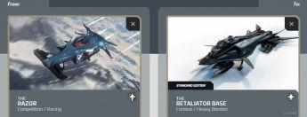 Razor to Retaliator Base Upgrade