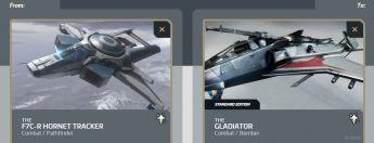 F7C-R Hornet Tracker to Gladiator Upgrade
