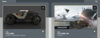 Cyclone to Cyclone - AA Upgrade