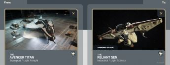 Avenger Titan to Reliant Sen - Researcher Upgrade