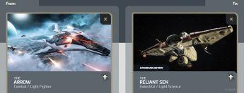 Arrow to Reliant Sen - Researcher Upgrade
