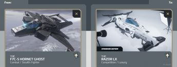 F7C-S Hornet Ghost to Razor LX Upgrade