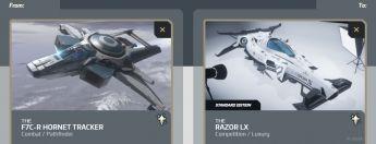 F7C-R Hornet Tracker to Razor LX Upgrade