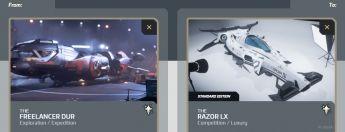 Freelancer DUR to Razor LX Upgrade