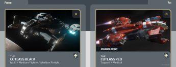 Cutlass Black to Cutlass Red Upgrade