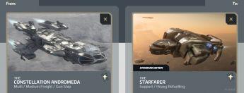 Andromeda to Starfarer Upgrade
