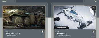 Ballista to Razor LX Upgrade