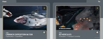 Carrack Expedition W/C8X to A2 Hercules Upgrade